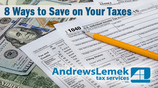 Save on Your Taxes